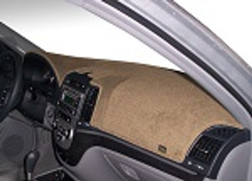 Fits Kia Telluride 2020-2021 w/ HUD Carpet Dash Board Cover Mat Vanilla