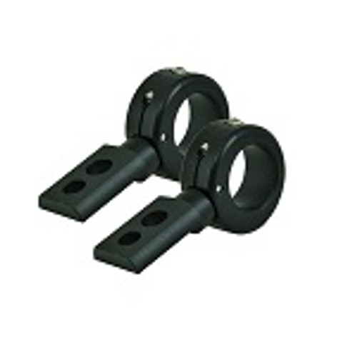 """PIAA 1.5"""" or 1.75"""" Adjustable Roll Cage Bar Light Mounting Aluminum Clamps"""