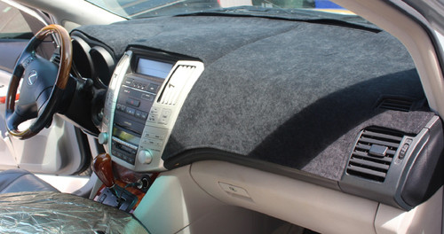 Fits Subaru Ascent 2019-2020 Brushed Suede Dash Board Cover Mat Black