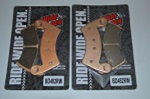 Polaris Ranger RZR Ace Brutus Wide Open Long Life Disc Brake Pads | Set of 2