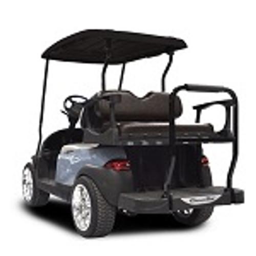 Madjax Genesis 300 Rear Standard Flip Seat | EZGO TXT Cart 1994.5-Up | Black-1