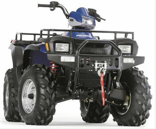 1996-2002 Polaris Xplorer 400 4X4 Warn Front Bumper w/Winch Mount