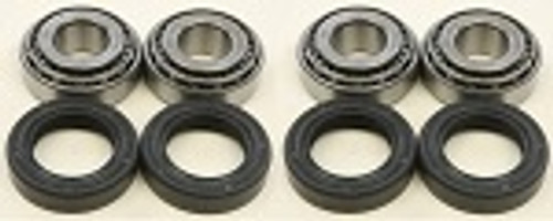 All Balls 1973 Harley FL Electra Glide Wheel Bearing and Seal Kit Set of 2