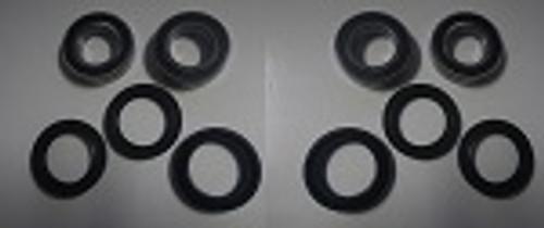 2008-2012 Yamaha Rhino 700 Front Wheel Bearing/Seal Kit All Balls 25-1108 Set 2