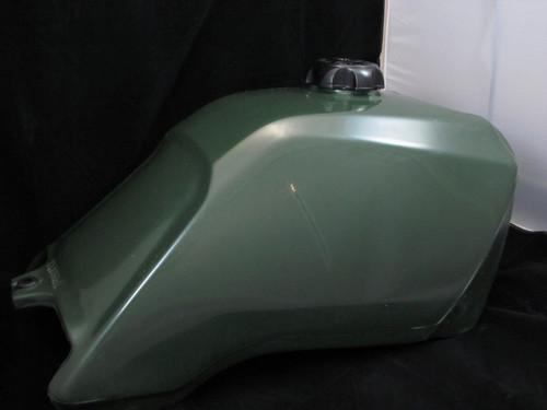 Honda TRX300 Fourtrax 1988-1992 Fuel Tank & Gas Cap Green - Clarke MFG