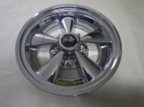 "Golf Cart EZGO Yamaha Club Car 10"" Rally Chrome Wheel Cover Hub Cap"