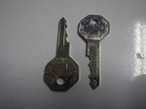 EZGO Golf Cart 1976-1980 Replacement Ignition Key Switch Key | Set of 2