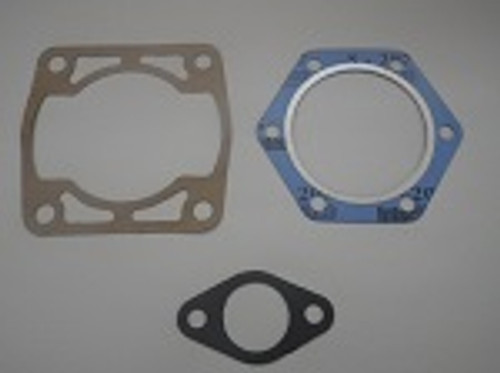 EZGO 2 Cycle Gas Golf Cart 1980-1988 Top End Gasket Set Cylinder, Head, Exhaust