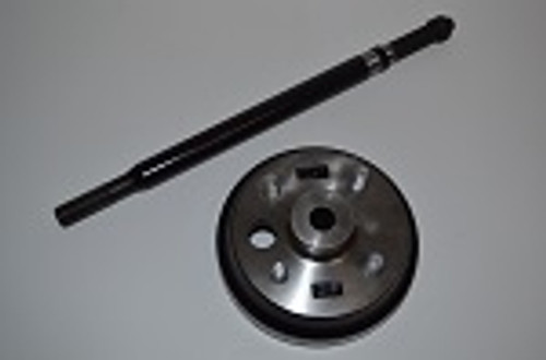 EZGO Golf Cart Electric TXT 1994-2013 Passenger Side Rear Axle w/ Brake Hub Drum