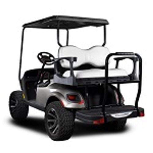 Madjax Genesis 250 Rear Deluxe Flip Seat | EZGO TXT 1994-Up Cart| White