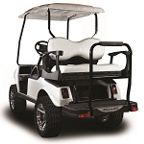 Madjax Genesis 300 Rear Deluxe Flip Seat   Club Car DS 1982-Up   White
