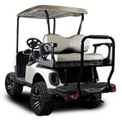 Madjax Genesis 300 Rear Deluxe Flip Seat | EZGO RXV Cart 2008-Up | Oyster