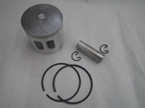 Yamaha G1 2-Cycle Gas Golf Cart Piston, Rings, Wrist Pin, Clips Kit | .50mm OS