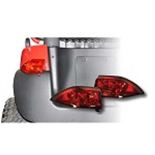 GTW Replacement LED Rear Taillights   2004-Up Club Car Gas Golf Cart   02-127