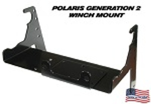 1993-1998 Magnum 425 2x4/4x4/6x6 Kfi Winch Mount Polaris Gen2 100630