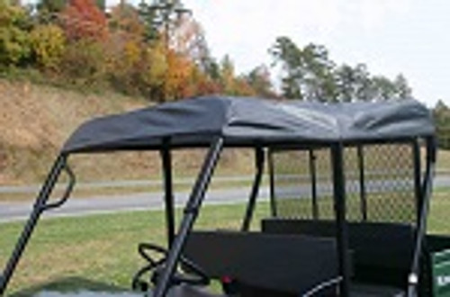 Kawasaki Mule 4010 Trans Roll Cage Soft Top Roof | Black