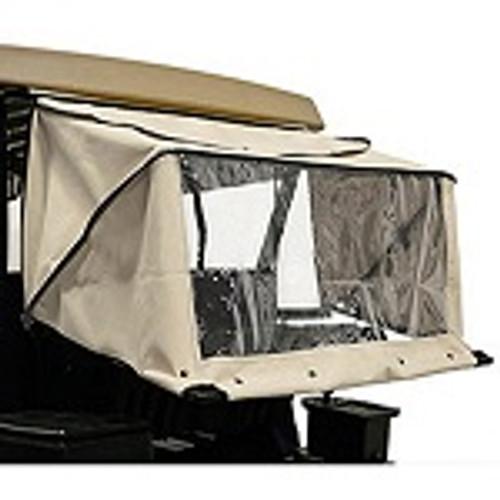 RedDot Golf Cart Club Protector Rain Guard | Yamaha G29 Drive / Drive2 | Linen