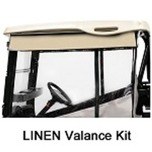 RedDot Chameleon 2 Passenger Golf Cart Valance Kit | Yamaha Drive | Linen