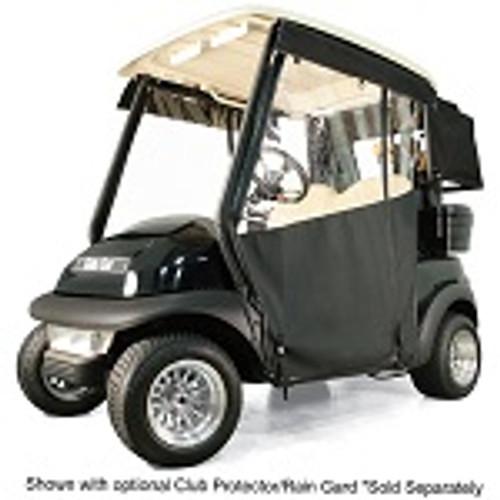 RedDot Chameleon 2 Passenger Golf Cart Track Enclosure | Yamaha Drive | Black