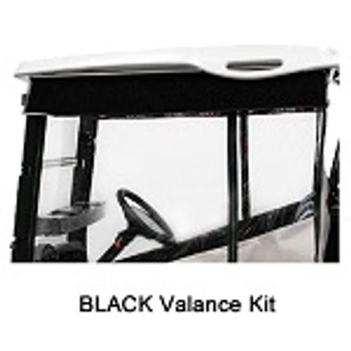 RedDot Chameleon 2 Passenger Golf Cart Valance Kit | Yamaha Drive | Black