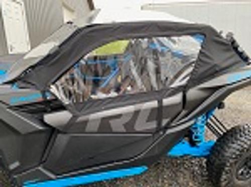 Can Am Maverick X3 Door Side Cab Enclosure Doors Custom Made | Black