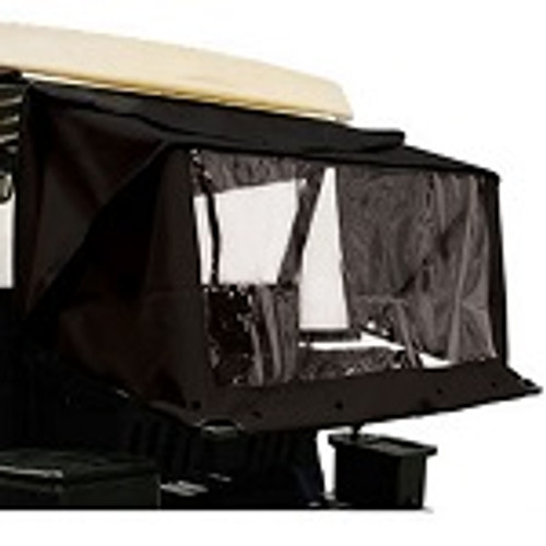 RedDot Golf Cart Club Protector Rain Guard | Yamaha G29 Drive / Drive2 | Black