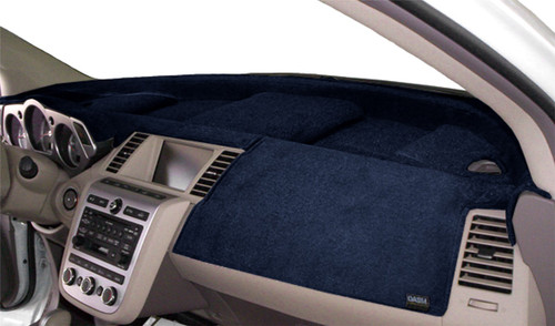 Fits Toyota Camry 2021 w/ HUD Velour Dash Board Mat Cover Dark Blue