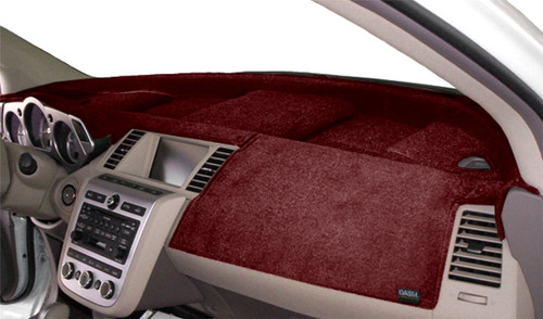 Chevrolet Suburban 2021 No HUD Velour Dash Cover Mat Red