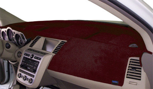 """Fits Nissan Rogue 2021 w/ 9"""" Screen Velour Dash Cover Mat Maroon"""