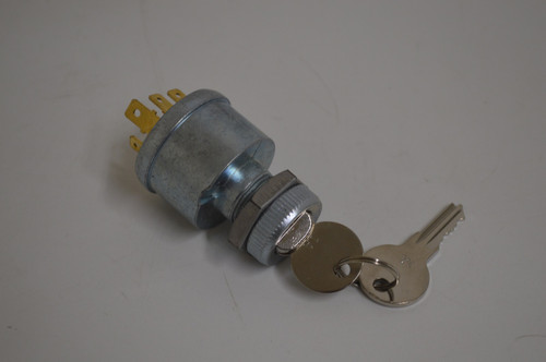 EZGO Golf Cart 1975-up 4 Terminal Ignition Key Switch w/ Lights | 33639-G03