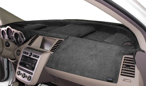 Fits Hyundai Sonata Hybrid 2020-2021 Velour Dash Board Cover Mat Charcoal Grey