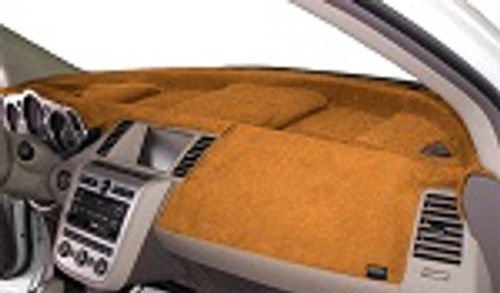 Dodge Ram Truck 1500 2019-2021 w/ HUD Velour Dash Cover Mat Saddle