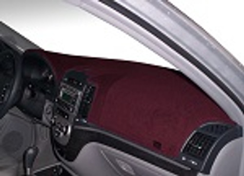 Dodge Ram Truck 1500 2019-2021 w/ HUD Carpet Dash Cover Mat Maroon