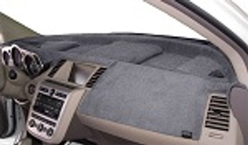 Mercedes Sprinter 2019-2021 w/ Hatch Vents Velour Dash Cover Mat Medium Grey