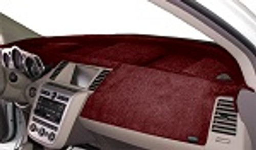 Mercedes Sprinter 2019-2021 w/ Hatch Vents Velour Dash Cover Mat Red