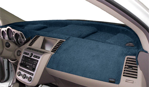 Mercedes Sprinter 2019-2021 w/ Hatch Vents Velour Dash Cover Mat Medium Blue