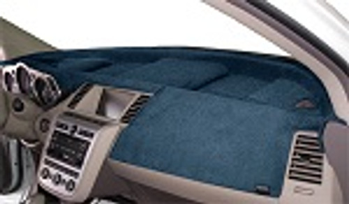 Fits Tesla 3 2017-2021 Velour Dash Board Mat Cover Medium Blue