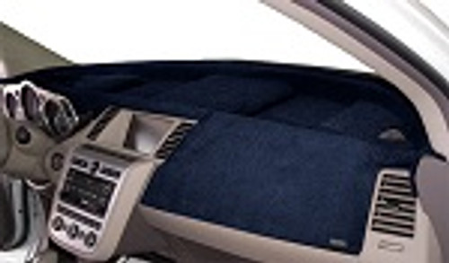 Dodge Magnum 2005-2007 Velour Dash Board Cover Mat Dark Blue