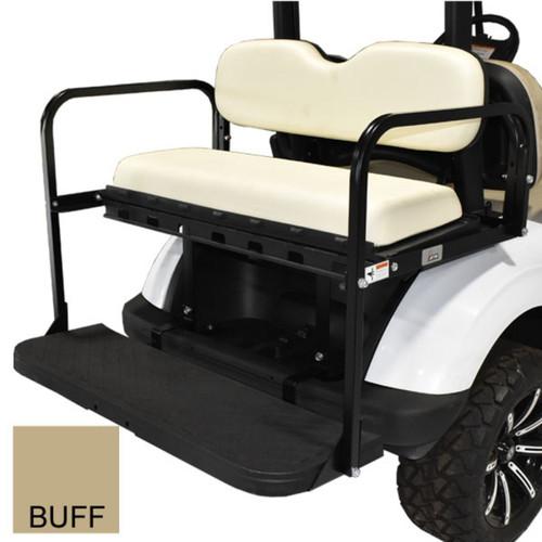 Club Car DS Golf Cart 2000-Up | GTW MACH3 Rear Flip Seat | Buff