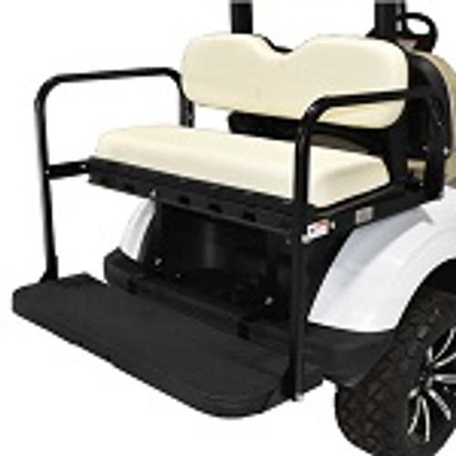 EZGO TXT Golf Cart 1994.5-Up | GTW MACH3 Rear Flip Seat | White