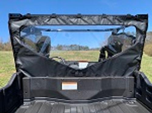 Honda Pioneer 1000 Soft Rear Window Dust Stopper Custom Made to Order | Black