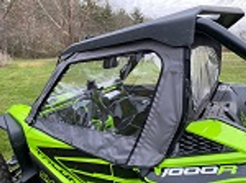 Honda Talon Door Side Cab Enclosure Doors Custom Made to Order | Black