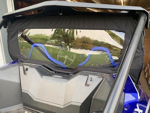 Honda Talon Soft Rear Window Dust Stopper Custom Made to Order | Black