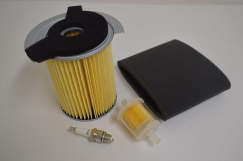 Yamaha G1 Gas Golf Cart 1978-1989 Air Fuel Filter Spark Plug Tune Up Kit
