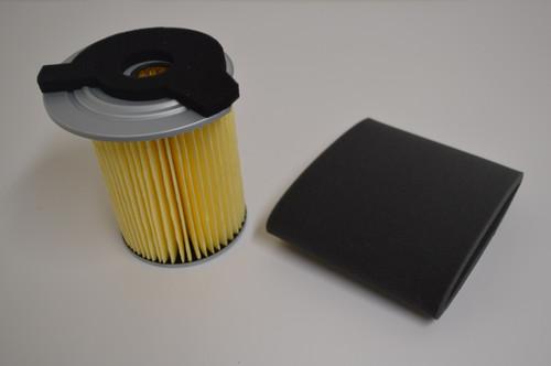 Yamaha G1 G14 Gas Golf Cart Oil Impregnated Air Filter w/ Foam Pre Filter