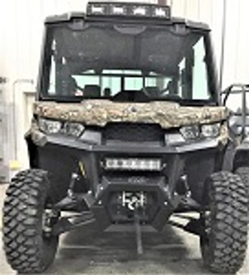 Bad Dawg Can Am Defender Front Square Tube Bumper   793-2523-00