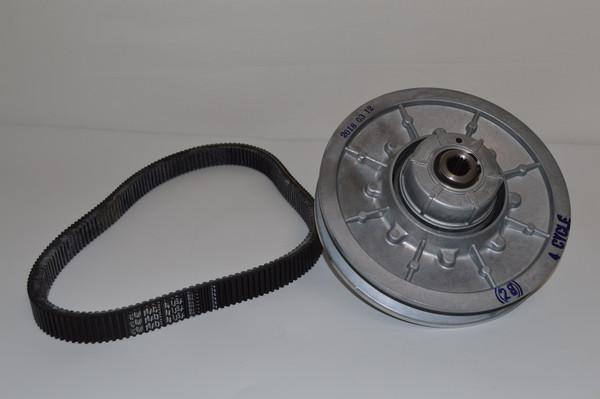 EZGO Golf Cart 1991-2009 Rear Driven Clutch Performance Kit w/ Belt
