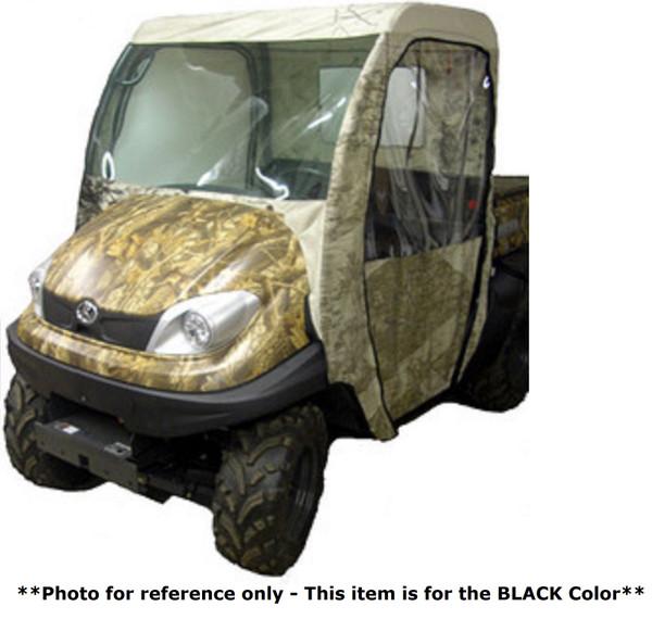 Kubota RTV 400 500 UTV Full Cabin Cab Enclosure System | Black