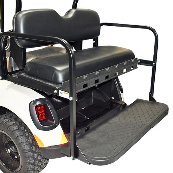 Club Car DS Golf Cart 1981-1999 | GTW MACH3 Rear Flip Seat | Black