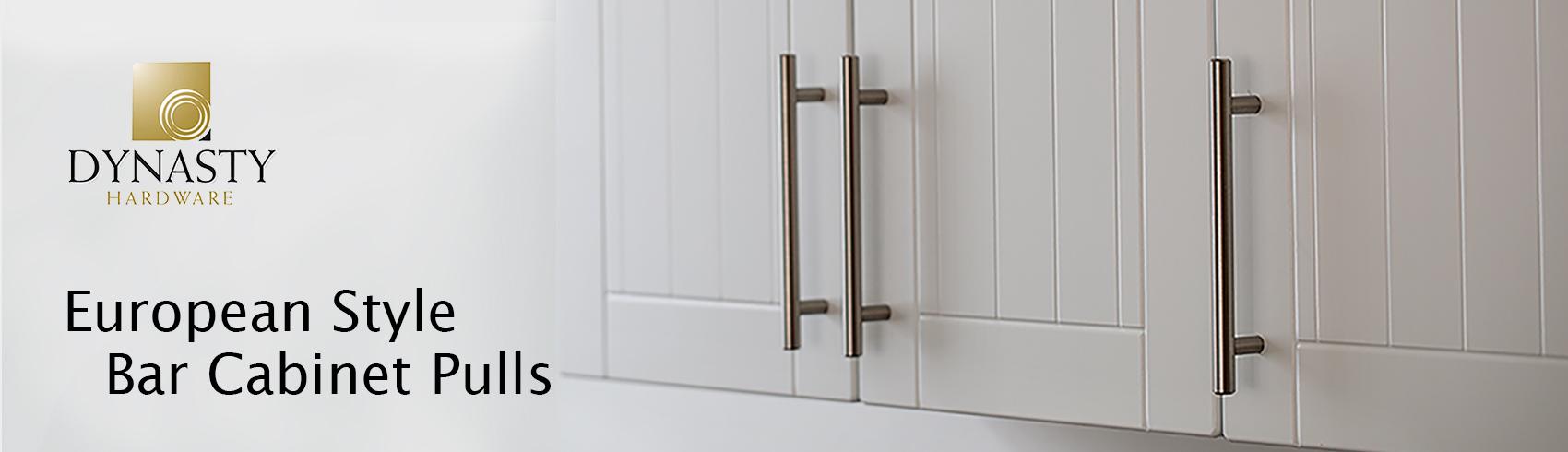 Polished Chrome Dynasty Hardware 8 Back to Back Tubular Shower Door Pull For Frameless Shower Doors With Trim Washers